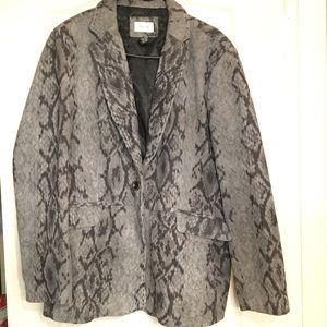 Neiman Marcus exclusive 100%lamb leather blazer
